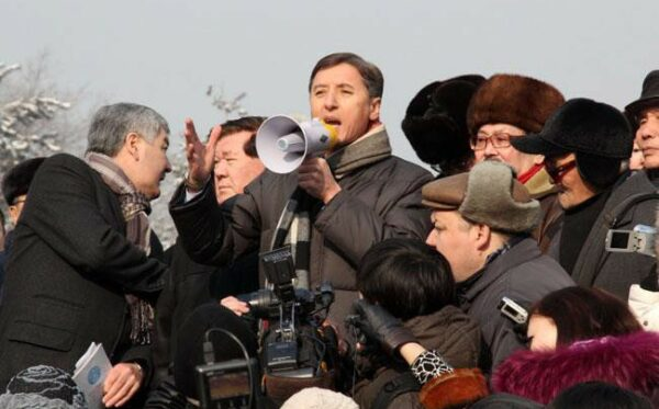 Conduct of a rally by the only opposition party of Kazakhstan was punished