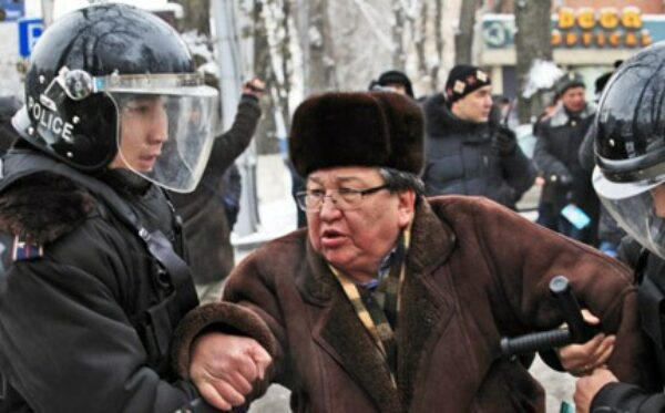 The calendar of the strikes of oil workers and of political persecution in Kazakhstan (February, 2012)