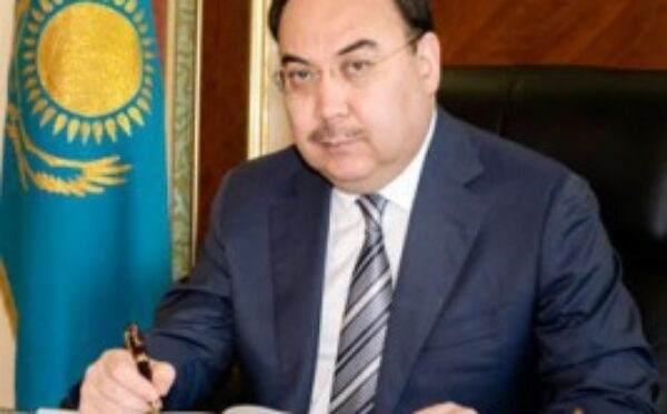 The visit of Kazakhstan's foreign minister was held behind closed doors