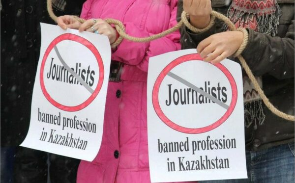 Court hearings in the case against the following mass media outlets: the newspapers 'Vzglyad', «Respublika» as one mass media outlet, the «stan.tv» internet portal, the «K+» TV channel as well as the unregistered party «Alga!»