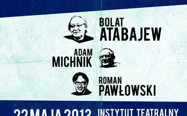 """An invitation: """"Bolat Atabayev – an artist in conflict with an authoritarian system. What can Europe do for Kazakhstan?"""""""
