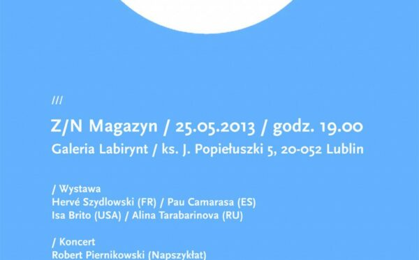 Ceremonial inauguration! Z/N Cultural Magazine – no. 8