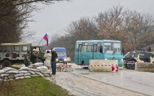 The Crimea: kidnapping of journalists and civil activists
