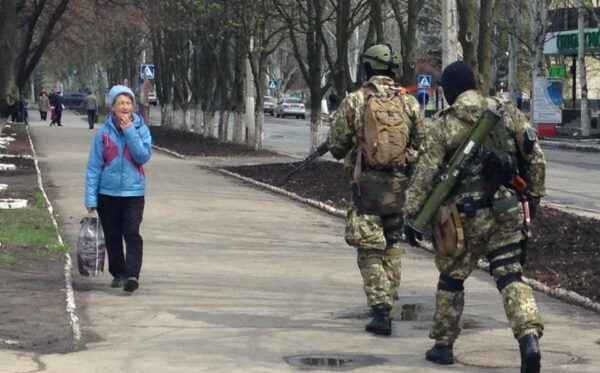 Russia's invasion of eastern Ukraine