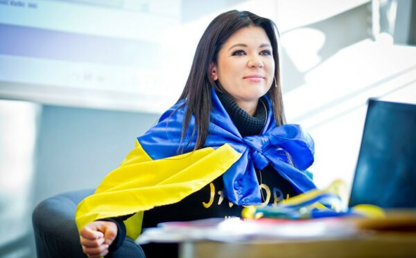 Ruslana Lyzhychko in the Ukrainian World