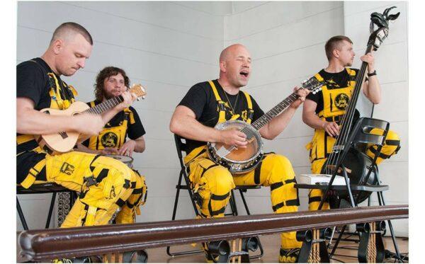 The 'Ukrainian World': performance by the 'Ot Vinta' band