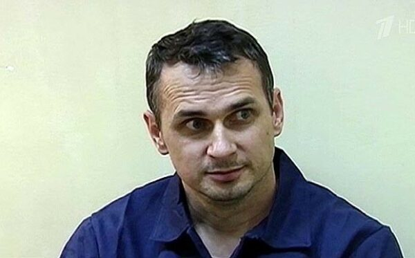Oleg Sentsov at hearing in Moscow on Monday 7 July pleads not guilty
