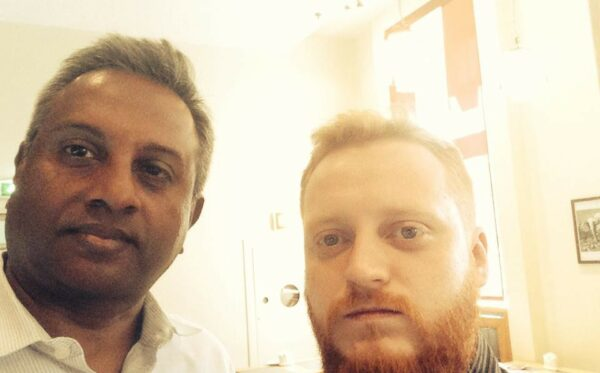 Meeting with Salil Shetty