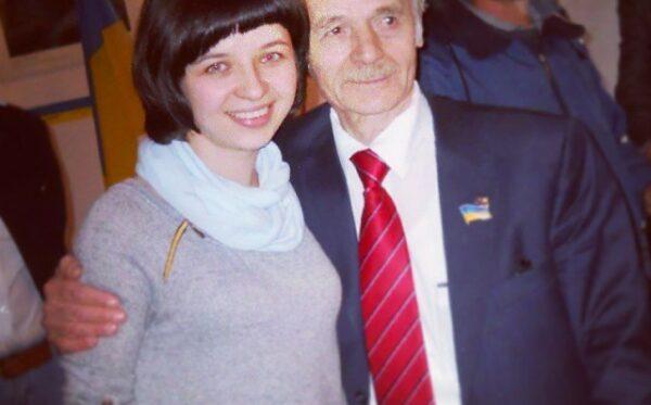 Meeting with Mustafa Dzhemilev