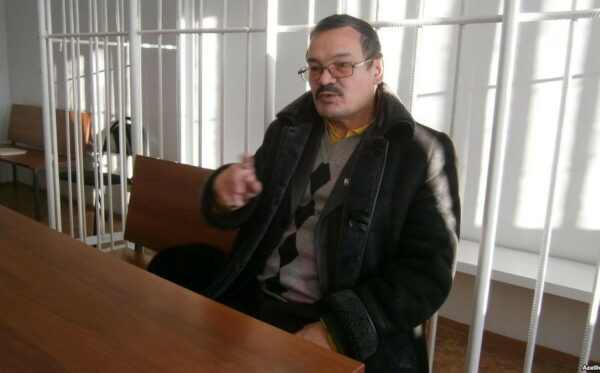 He was calling for solidarity with the Crimean Tatars and Ukraine, and was arrested for inciting racial hatred