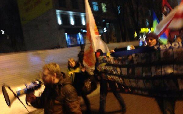 Kyiv remembrance rally