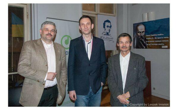"Meeting with V. Portnikov in ""Ukrainian World"""