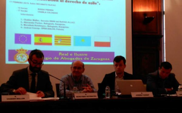 Human rights in Kazakhstan discussed in Saragossa