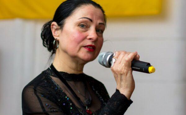 Svitlana Grigorjeva in concert at the Ukrainian World