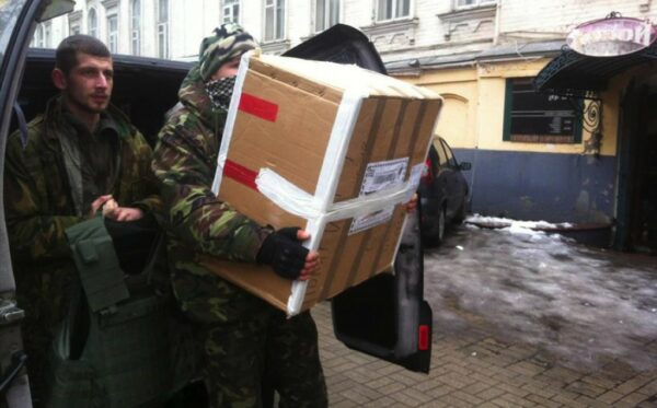 Report: Aid for civilians and soldiers in the ATO zone