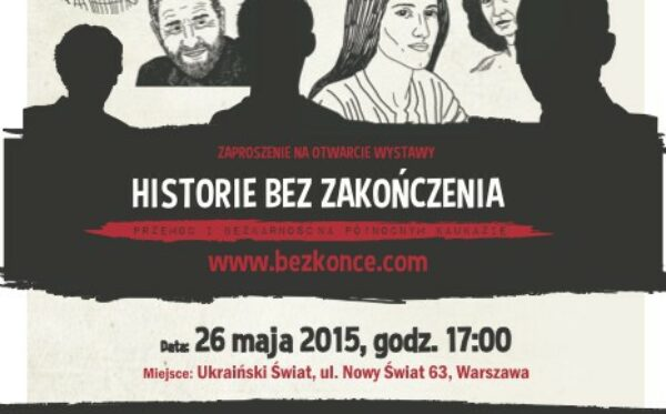 The exhibition 'Stories without ending' – human rights in the North Caucasus