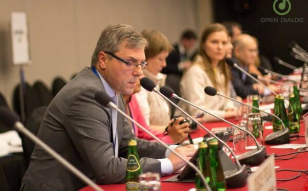 On reform of Interpol on the OSCE ODIHR conference in Warsaw, Poland
