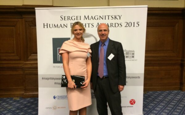 Open Dialog at the Sergei Magnitsky Human Rights Awards 2015 to commemorate the brave Russian lawyer