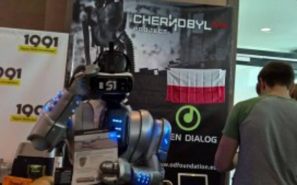 The Chernobyl VR Project presented at the conference 'InnoTech Ukraine'