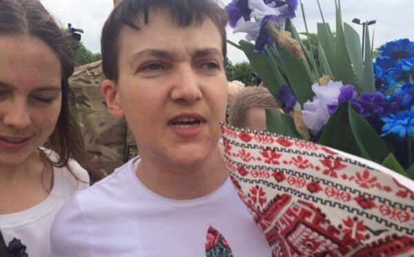 Nadia Savchenko is free! The ODF report from the Borispol Airport