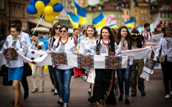The Vyshyvanka Parade –  integrating and strengthening ties