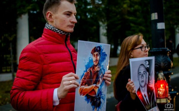 Open Dialog Foundation on the silent protest held on Putin's birthday