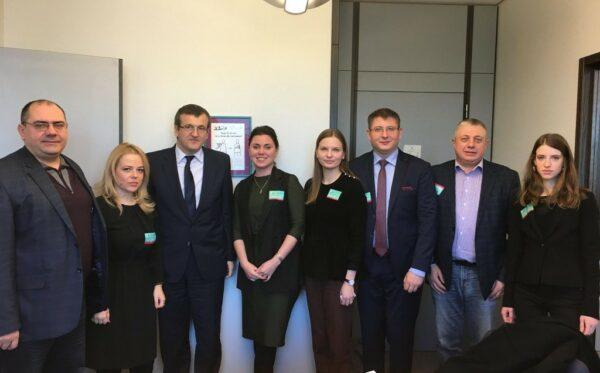 The ODF's support of the civil society in Moldova – high-level meetings at PACE & EP