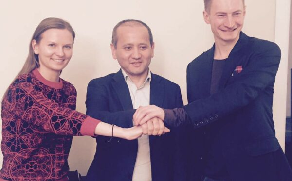 The first meeting of the ODF with Mukhtar Ablyazov