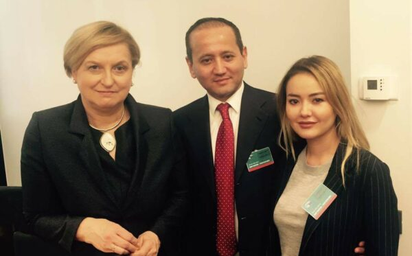 The ODF discussed human rights in Kazakhstan at the EP & CoE