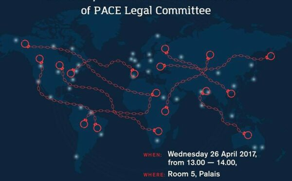 "Invitation to an event ""Ending abuse of INTERPOL's Red Notices: how to implement the recommendations of PACE Legal Committee"""