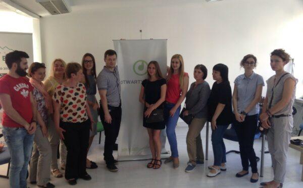 The Donbas SOS visit in Warsaw