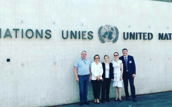 The ODF and DJ discussed human rights in Moldova and Kazakhstan, reform of INTERPOL at the UN HRC