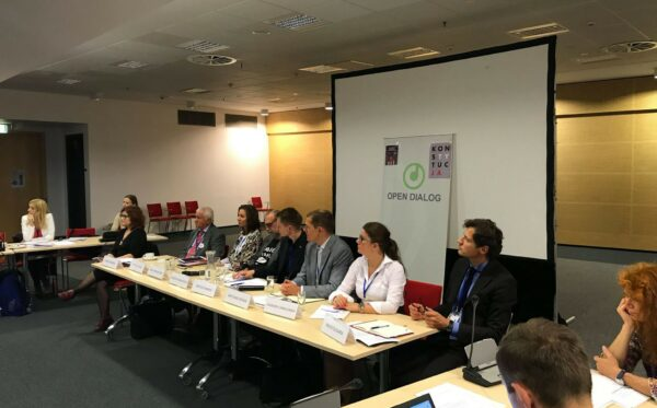 Attack against the rule of law and civil society in Poland – a debate during the OSCE HDIM 2017 conference