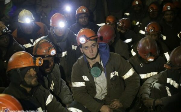 Каzakhstan: More than 700 miners go on strike