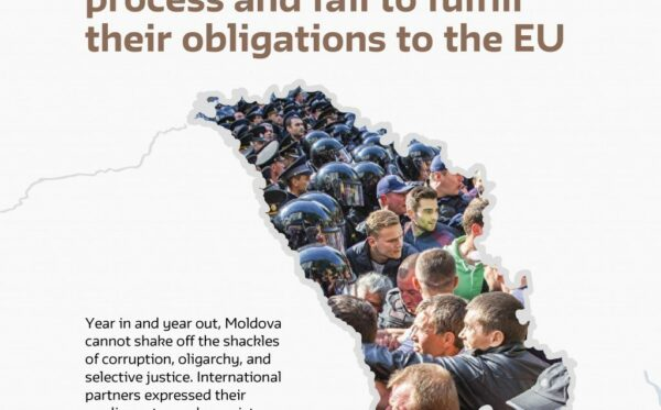 Report: The authorities of Moldova roll back the democratisation process and fail to fulfill their obligations to the EU