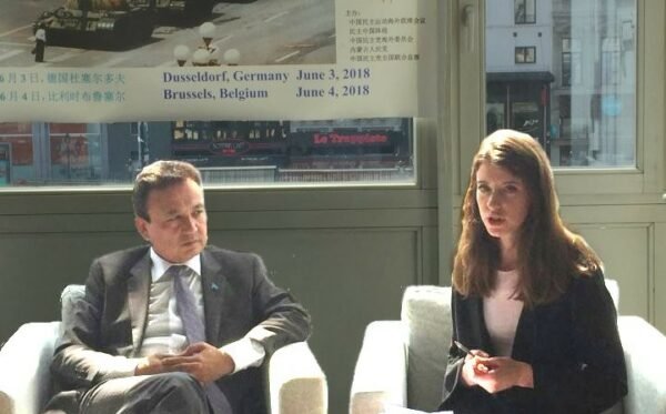 ODF participates in Brussels debate on human rights in China and INTERPOL