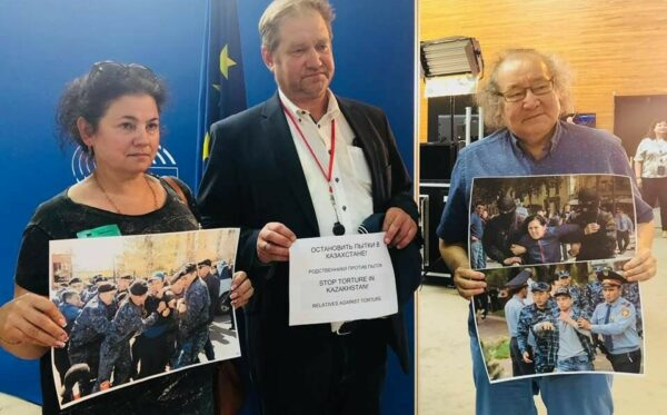 Human rights defender Elena Semenova detained in Kazakhstan after her visit to the European Parliament