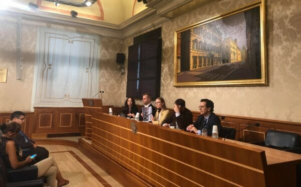 Civil liberties, political prisoners and lawyers' rights – ODF at the Italian Senate