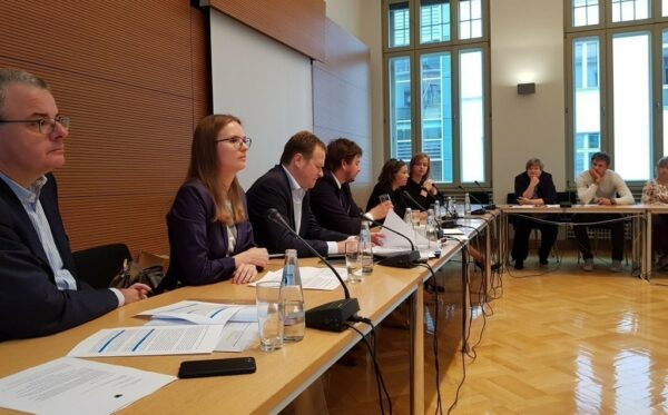 """""""The populist path towards authoritarianism must be stopped"""". Lyudmyla Kozlovska's speech at the Bundestag"""