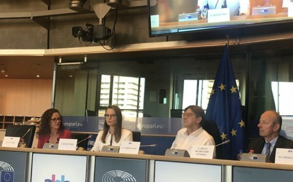 President of ODF delivers speech at the EP on Poland's entry ban