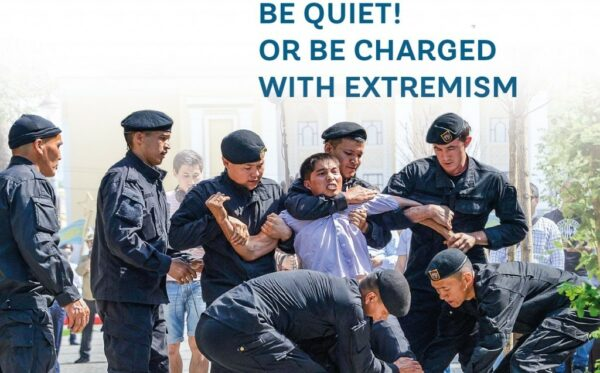 Collective complaint: Be quiet! Or be charged with extremism