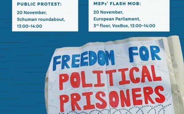Free political prisoners in Kazakhstan