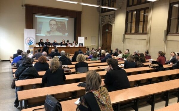 The ODF President speaks at events at the Sorbonne in France and in Visegrad, Hungary