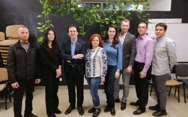 The Open Dialogue Foundation, FIDU and the Centre For Civil Liberties on a joint mission in Ukraine