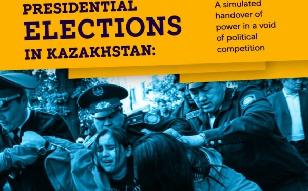 Presidential elections in Kazakhstan: a simulated handover of power in a void of political competition