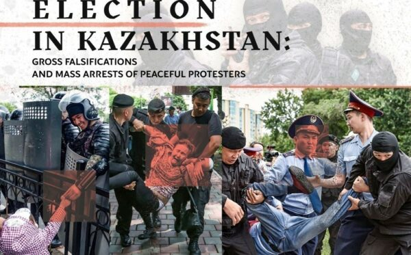Election in Kazakhstan: Gross falsifications and mass arrests of peaceful protesters
