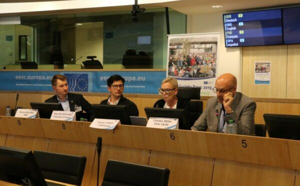 Bartosz Kramek on the situation of Polish human rights activists during Civil Society Days 2019