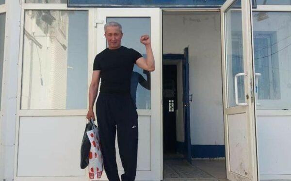 A political prisoner Ablovas Dzhumaev is free!