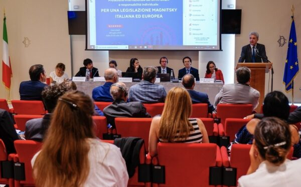 ODF & FIDU hosted a second seminar at the Italian Parliament on the Global Magnitsky Act