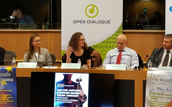 """Law and Justice's Campaign against Polish Judiciary"" – ODF's hearing in the European Parliament"